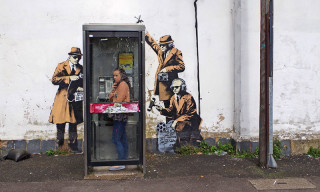 Banksy Does Q&A After Artwork Receives Grade II Status