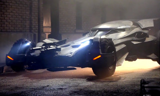 Take a Closer Look at the Batmobile From 'Batman v Superman: Dawn of Justice'