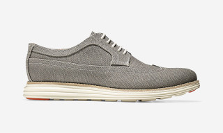 Cole Haan Spring/Summer 2015 LunarGrand Long Wingtip Canvas Collection