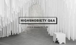 Highsnobiety Q&A | COS x Snarkitecture