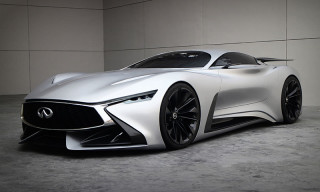 Infiniti Vision GT Displayed Outside Its Online World for the First Time