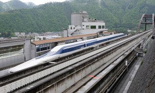 Japan's Maglev Train Sets New World Record at 603 Kph