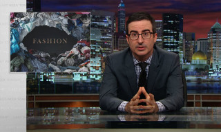 Watch 'Last Week Tonight's' John Oliver Take on the Fashion Industry