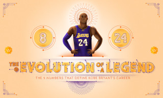 The 5 Numbers That Define Kobe Bryant's Career