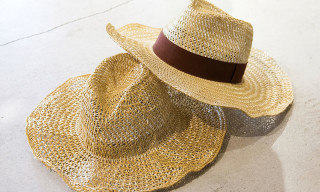 Larose Paris for BEAUTY & YOUTH Straw Hats