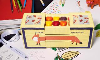 Maison Pierre Marcolini x Maison Kitsuné Chocolate Bento Box