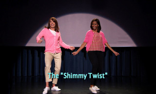 "Watch the ""Evolution of Mom Dancing"" Part 2 With Jimmy Fallon & Michelle Obama"