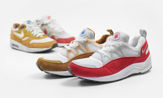 Nike Air Huarache Light 'Dark Curry' & 'University Red'