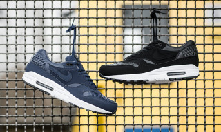 "Nike Air Max 1 Woven ""Black"" & ""Navy"""
