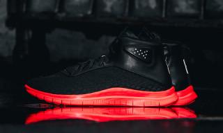 "Nike Free Hypervenom Mid ""Black/Hot Lava"""