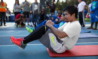 Nike Unveils Exclusive Manny Pacquiao Training Video