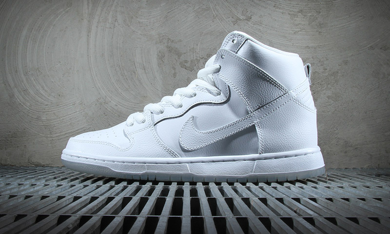 Nike Sb Dunk High Pro White Light Base Grey Highsnobiety