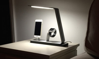 Charge All Your Electronics With the NuDock Power Station Lamp