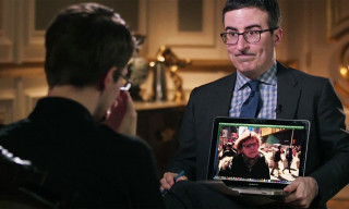 Watch John Oliver Interview Edward Snowden on 'Last Week Tonight'