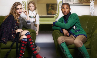 Pharrell and Cara Delevingne Star in Chanel 2015 Paris-Salzburg Campaign Shot by Karl Lagerfeld