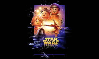 'Star Wars' Movie Posters Recreated in LEGO