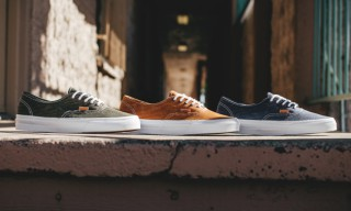 Vans CA Authentic Washed Herringbone Collection​