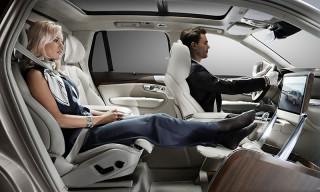 Volvo Unveils Lounge Console Concept