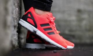 """adidas Originals Releases the ZX Flux in """"Infrared"""" Colorway"""