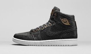 "A Detailed Look at the Air Jordan 1 Pinnacle ""Black/Metalic Gold"""