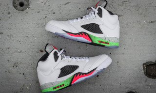 "Air Jordan 5 Retro ""Poison Green"""