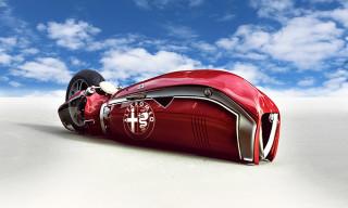 Alfa Romeo Spirito Motorcycle Concept