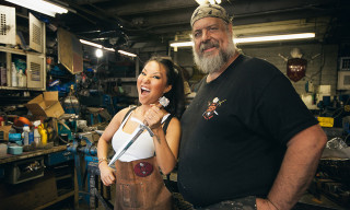 Watch Asa Akira Learn the Art of Blacksmithing