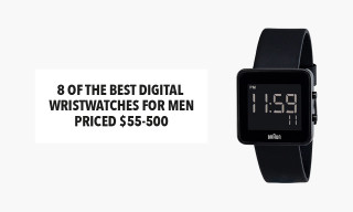 8 of the Best Digital Wristwatches for Men, Priced $55-500