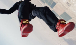 "Watch a Skydiver Free Fall While Wearing Buscemi's 100MM In ""SKY"""