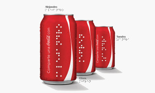Coca-Cola Is Now Printing Cans and Bottles in Braille