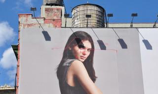 The Age of Drone Vandalism Begins – KATSU Tags Kendall Jenner's Calvin Klein Billboard