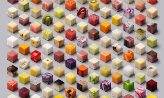 Artists Cut Raw Food Into 98 Perfect Cubes