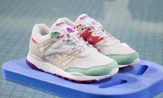 "Footpatrol and Reebok Channel VHS Fitness Videos on the Ventilator ""Hotstepper"""