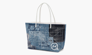 fragment design x VANQUISH for UNITED ARROWS & SONS Patchwork Tote Bag