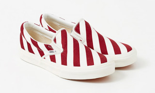Freemans Sporting Club and Vans Drop Striped Slip-On for Summer