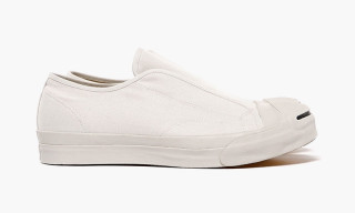 GANRYU COMME des GARÇONS Spring/Summer 2015 Cotton Canvas Laceless Sneakers