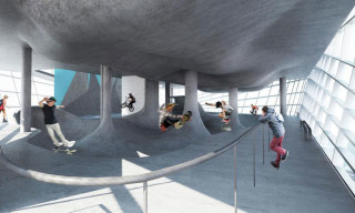 Guy Hollaway Architects Reveal Plans for World's First Multi-Storey Skatepark