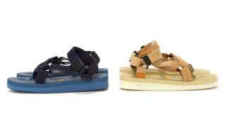 hobo x Suicoke Nubuck Leather Strap Sandal