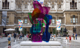 """Jeff Koons' """"Coloring Book"""" Sculpture Raises $13.2 Million at Cannes AIDS Auction"""