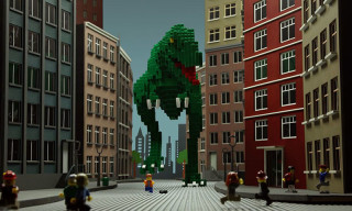 An Imaginative Stop-Motion Story Using Nothing but LEGO