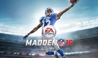 Odell Beckham Jr. Chosen as the Cover Star for 'Madden NFL 16'