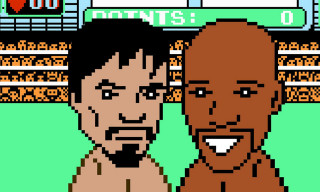 Watch Mayweather vs. Pacquiao Recreated in NES 'Punch-Out!!'