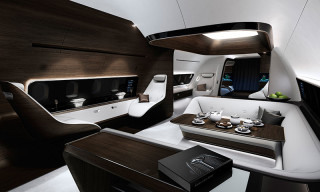 Mercedes-Benz Style and Lufthansa Technik Develop State-of-the-Art Aircraft Cabin