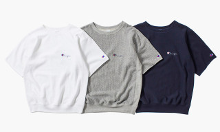 nanamica x Champion Summer 2015 Cut-Off Sleeve Sweatshirts