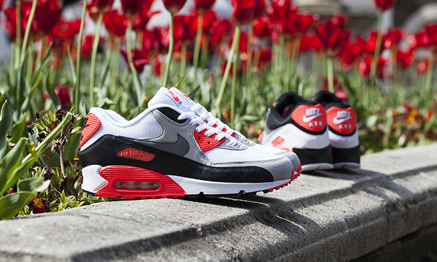 nike air max 90 infrared re-release ad