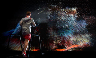 Nike's Interactive Running Installation Transforms Your Portrait Into Force of Nature
