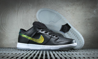 "Nike SB Dunk Low ""Sparkle Swoosh"""