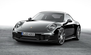 Porsche Announces Limited 'Black Edition' 911 & Boxster