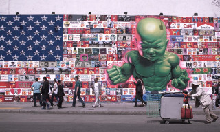 Highsnobiety Visits | Ron English Takes Over the Bowery Mural