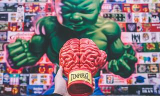 Ron English x ToyQube Boxing Brain